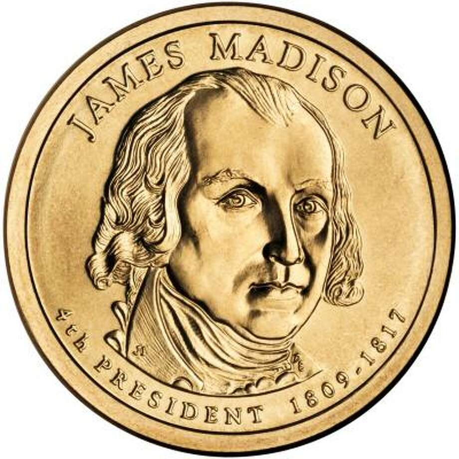 The newest $1 presidential coin Photo: U.S. MINT