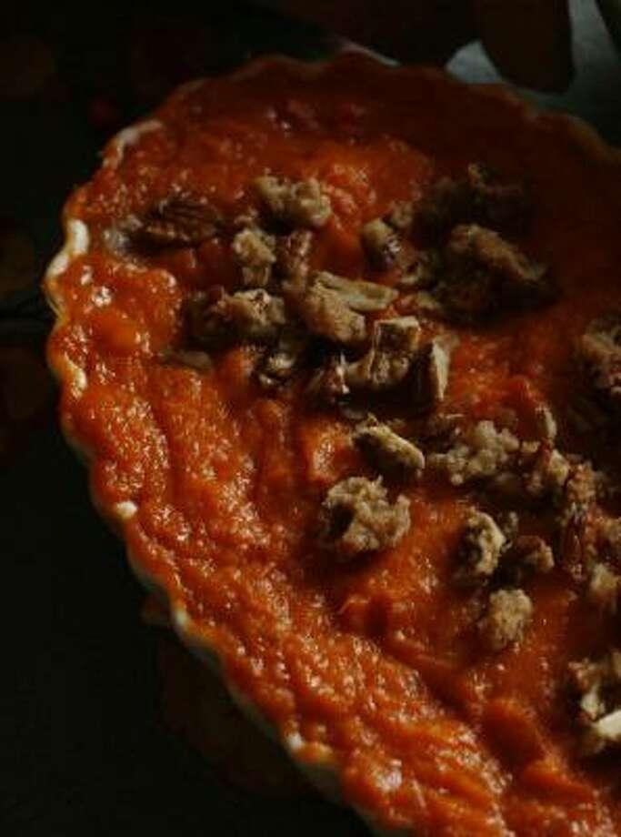 Sweet Potato Soufflé. Photo: Billy Smith II, CHRONICLE