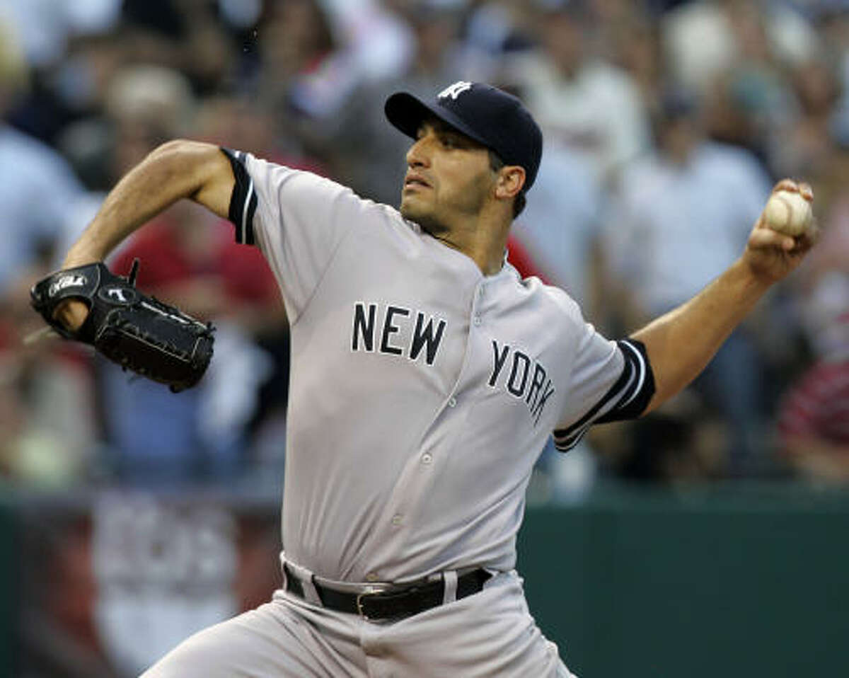 Andy Pettitte recently re-signed with the New York Yankees.