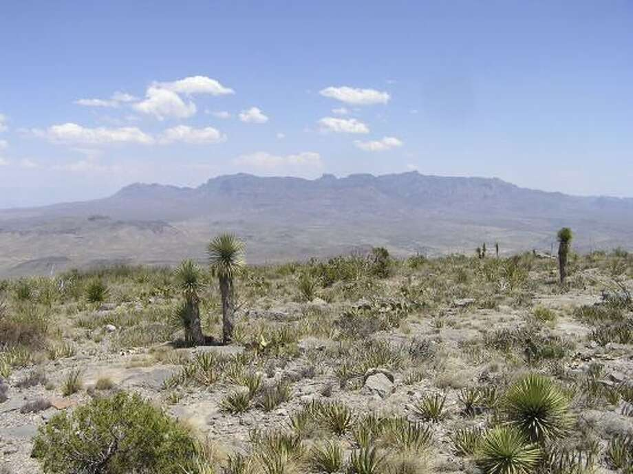 The Christmas Mountains property, which shares a 1-mile border with Big Bend National Park, was donated to the state 16 years ago. Photo: TEXAS GENERAL LAND OFFICE, ASSOCIATED PRESS