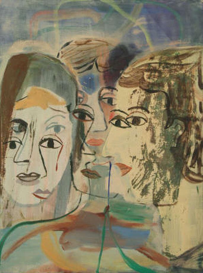 The Seeds, 2007 -- oil on canvas by Jackie Gendel Photo: Jackie Gendel