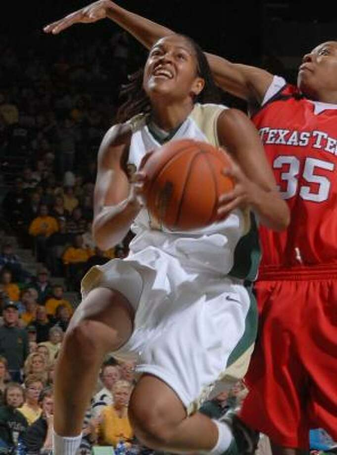 Bay City product Jhasmin Player, left, says it's time for Baylor to win a Big 12 championship. Photo: Rod Aydelotte, AP