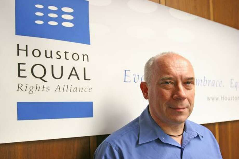 Jack Valinski, the director of operations for the Houston Equal Rights Alliance, will be honored tonight. Photo: MARGARET BOWLES, FOR THE CHRONICLE