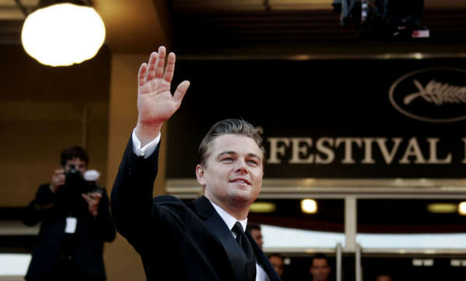 Actor Leonardo DiCaprio took his documentary, The 11th Hour, to the Cannes Film Festival. Photo: Francois Mori, Associated Press