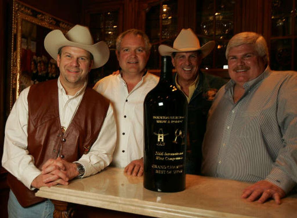 Good Left To Right: Tilman Fertitta, Roy Marsh, Robert Finger And John Eddie  Williams