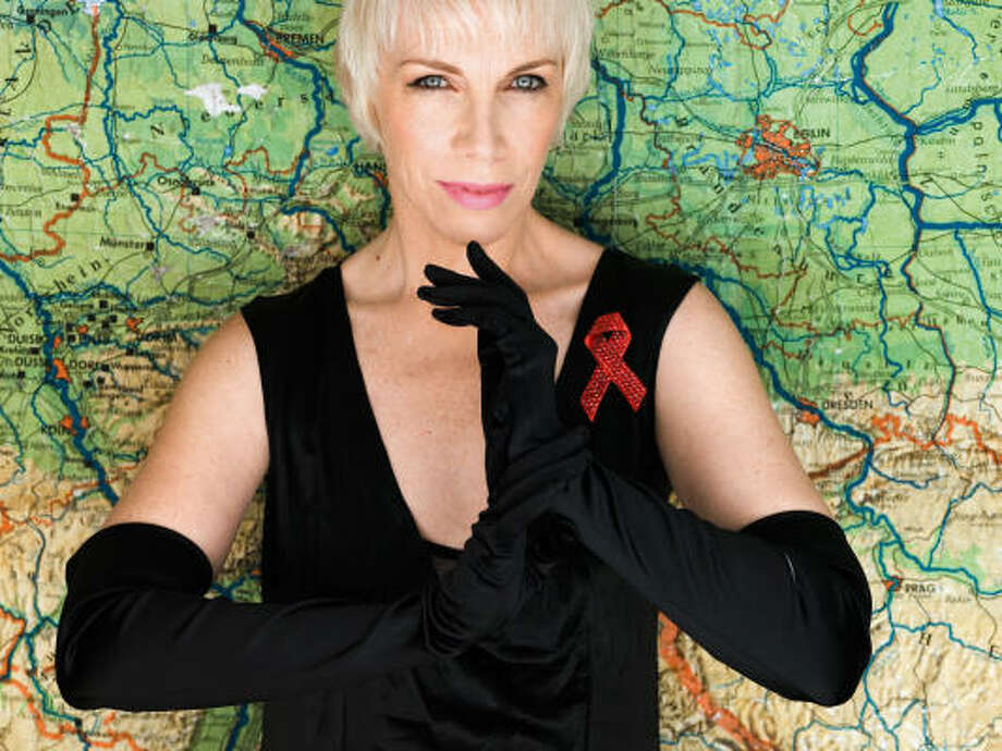 Annie Lennox releases Songs of Mass Destruction, her fourth solo album, today. Photo: Arista Records