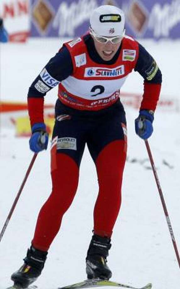 Kikkan Randall earned her first World Cup victory in cross country at an event in Russia. Photo: MIKHAIL METZEL, ASSOCIATED PRESS