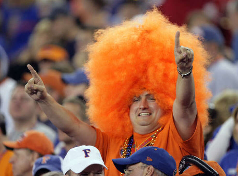 From Gainesville to Glendale, fans were cheering the Gators. Photo: Paul Connors, AP