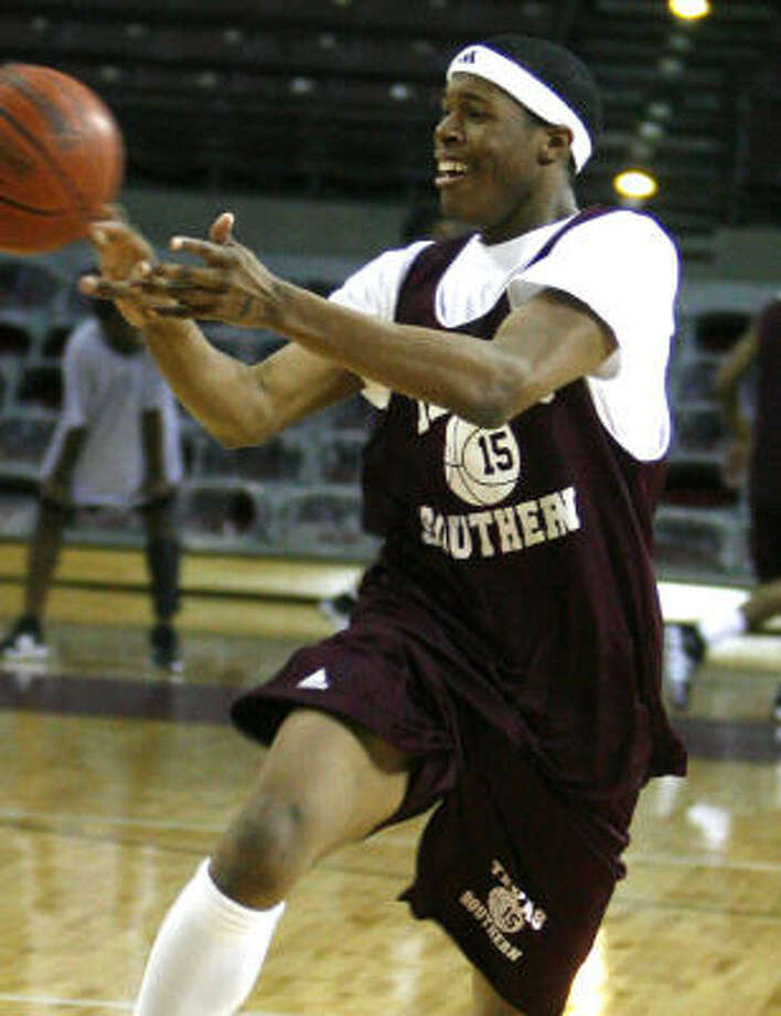 This season, TSU's Jacques Jones ranks fourth in the SWAC in scoring, seventh in rebounds and second in field goal percentage. Photo: Billy Smith II, Houston Chronicle