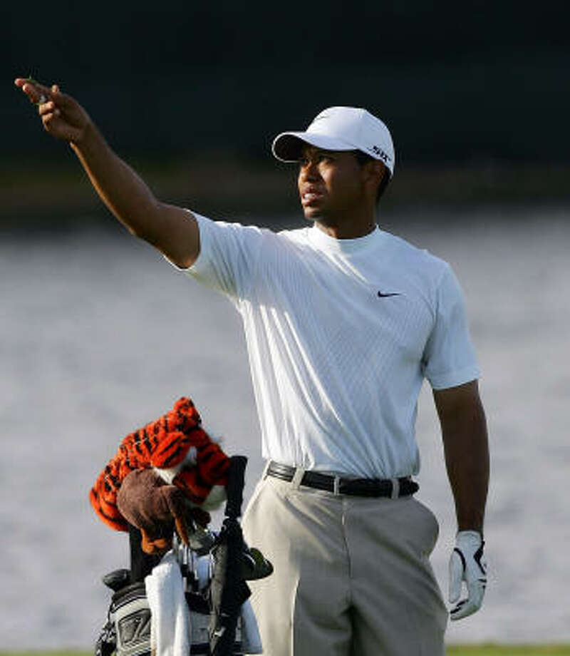 Whatever way the wind blows is the right way for Tiger Woods this weekend. Photo: David Cannon, Getty Images