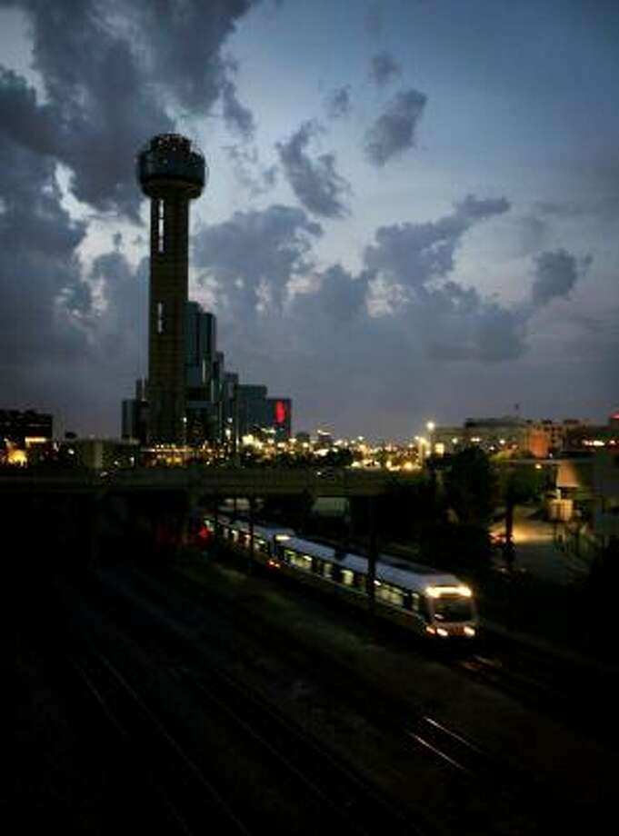 Reunion Tower is set to undergo a $55 million makeover that also includes the Hyatt Regency Dallas at Reunion and Union Station. Photo: ELIZABETH M. CLAFFE, DALLAS MORNING NEWS