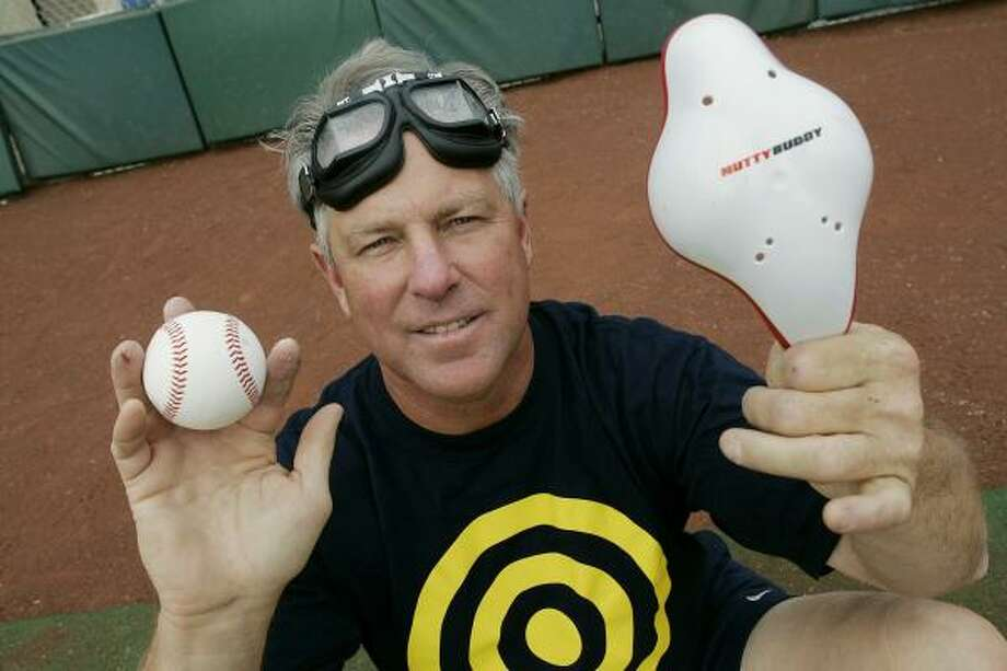 Mark Littell says nine seasons with the Kansas City Royals and St. Louis Cardinals helped him design better protection. Photo: ROSS D. FRANKLIN, ASSOCIATED PRESS
