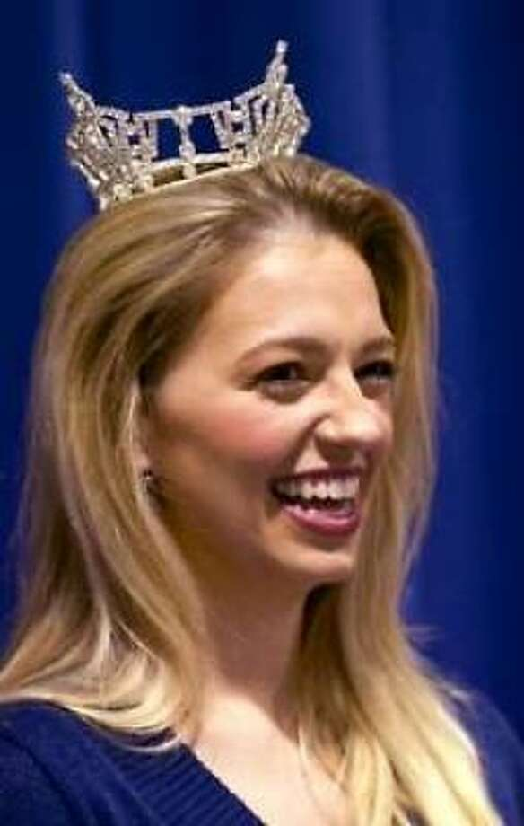 Betsy Uschkrat, 24, a Clements High School graduate, is competing as Miss Indiana in the Miss America pageant in Las Vegas. The Jan. 29 finals will be broadcast live on CMT.