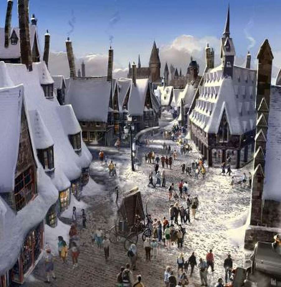 The Wizarding World of Harry Potter is expected to open in 2009. Photo: UNIVERSAL ORLANDO