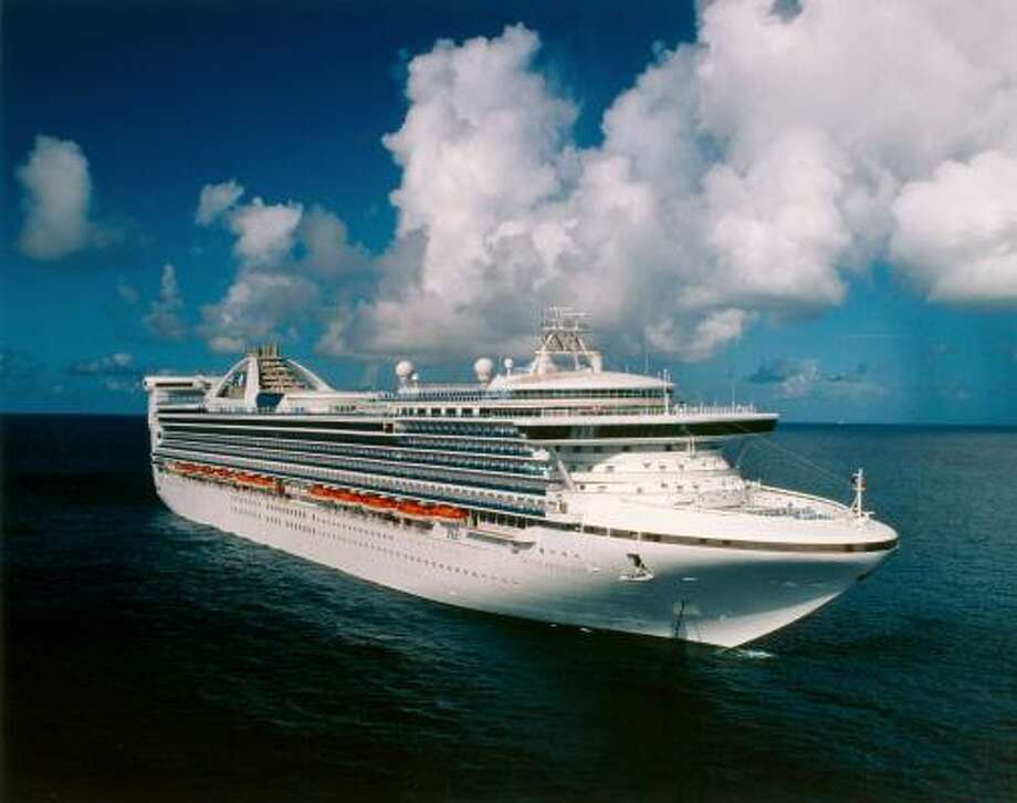 The 109,000-ton Grand Princess is shown in a file photo. Photo: Princess Cruises