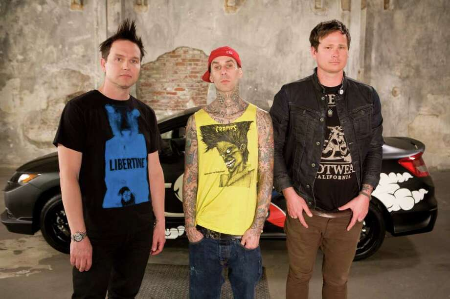 Blink-182 is back together and will headline the Honda Civic Tour when it stops at the Comcast Theatre in Hartford Sunday night, Aug. 14. Photo: Contributed Photo