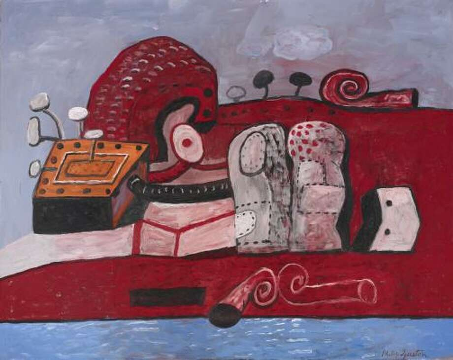 Philip Guston's Connection is coming to the Museum of Fine Arts, Houston, a gift of Edward R. Broida. Photo: The Estate Of Philip Guston, Courtesy Of McKee Gallery, New York