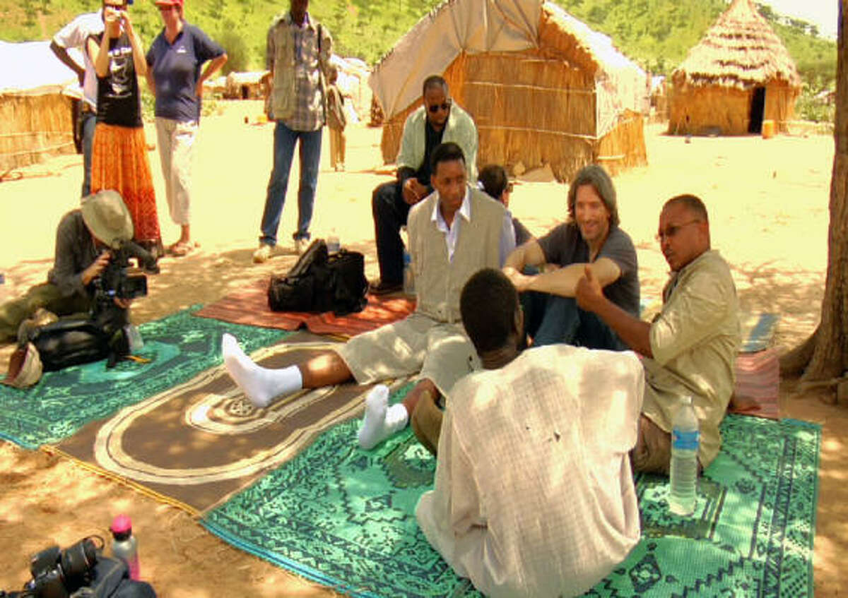 Tracy McGrady credits his hands-on experience during his visit with helping him have a better understanding the lives led by the Darfur refugees. McGrady hopes to inspire others to commit aid by making a documentary telling their tale.