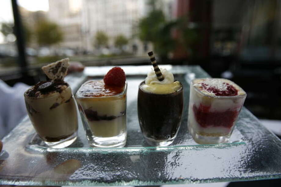 Dessert at Timpano. Photo: Nick De La Torre, Chronicle