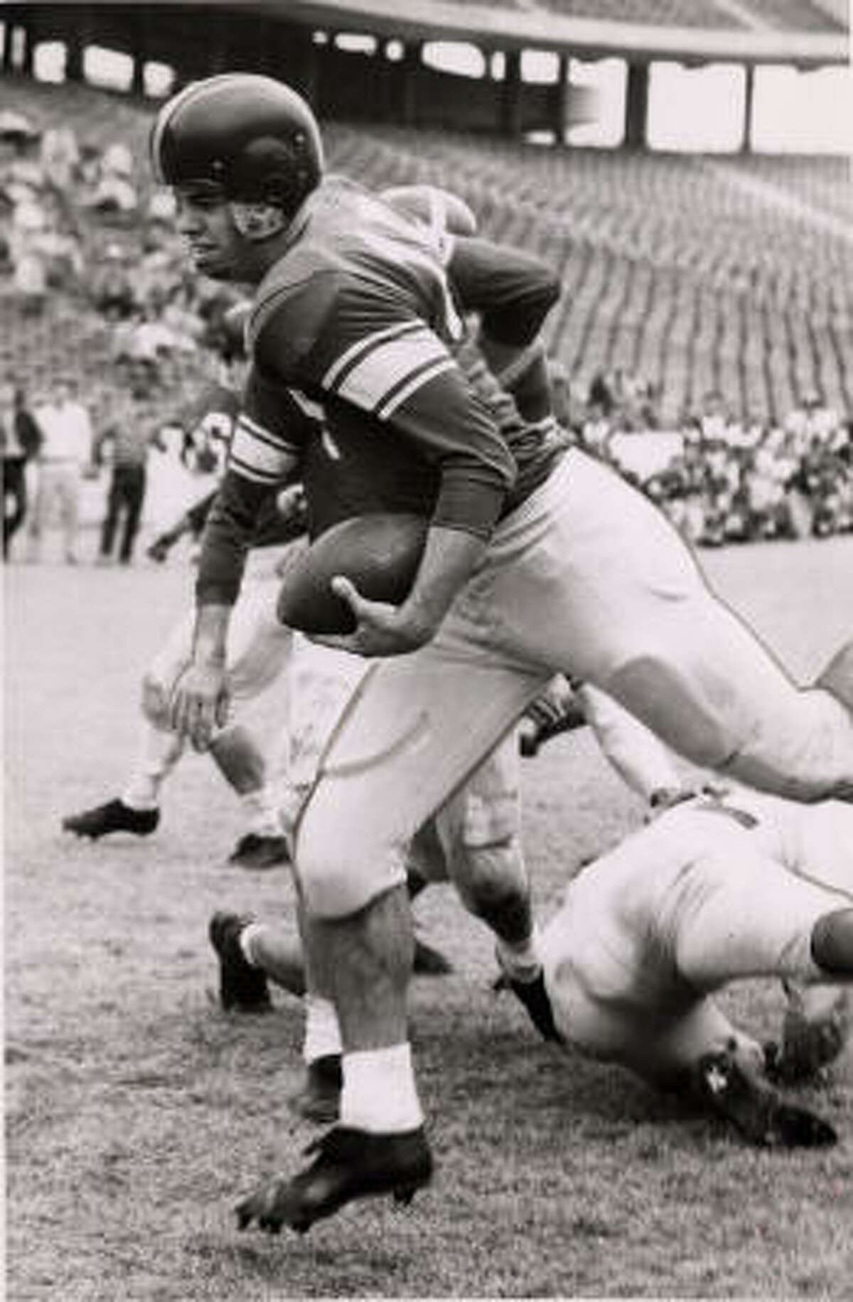 King Hill led the Owls to the 1957 Southwest Conference title.