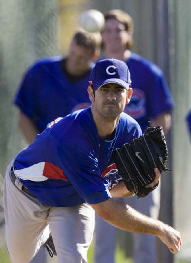 Ed Wade confirmed the Astros have contacted the agent for pitcher Mark Prior on Thursday. Photo: Morry Gash, AP