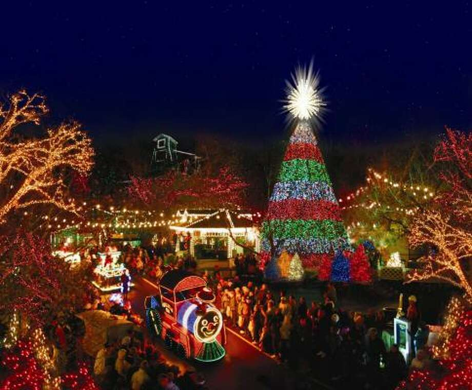 Top 10 Christmas light shows in the nation - Houston Chronicle