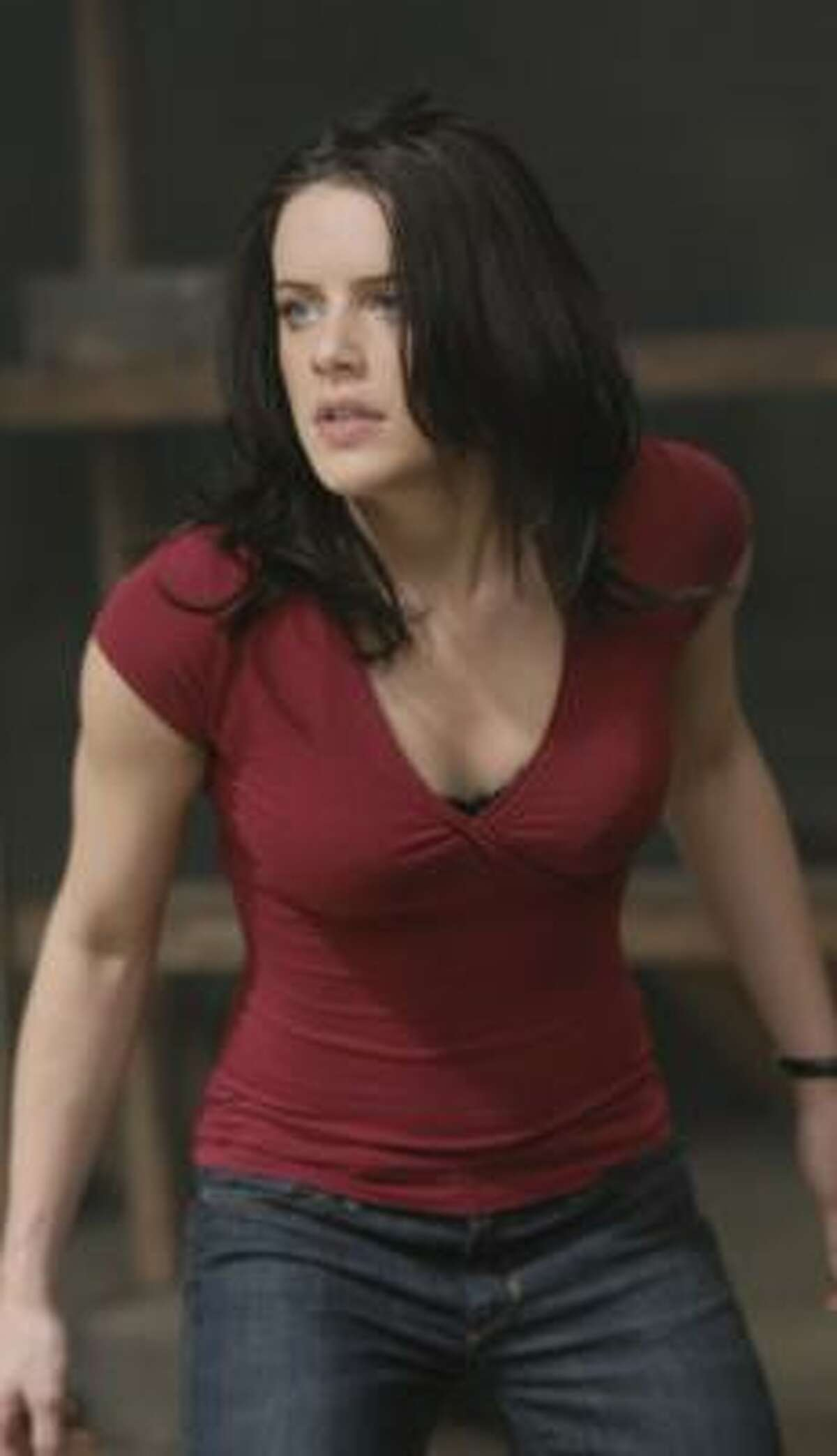Michelle Ryan stars as Jaime Sommers in an updated version of Bionic Woman.