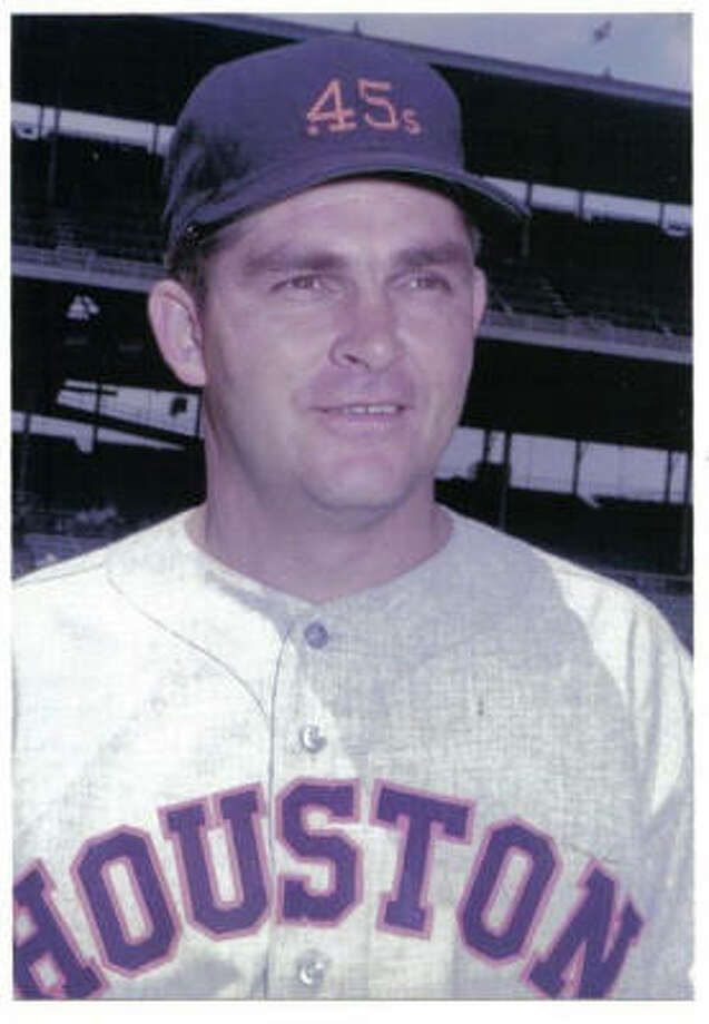 Don Nottebart pitched the first no-hitter in franchise history for the Colt .45s on May 17, 1963. Photo: Courtesy Of Nottebart Family