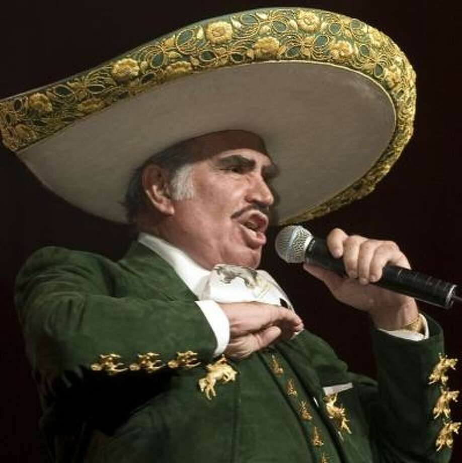 Vicente Fernandez's El Rey is a Mexican standard perfect for Cinco de Mayo. Photo: GABRIEL SUAREZ, FOR THE CHRONICLE
