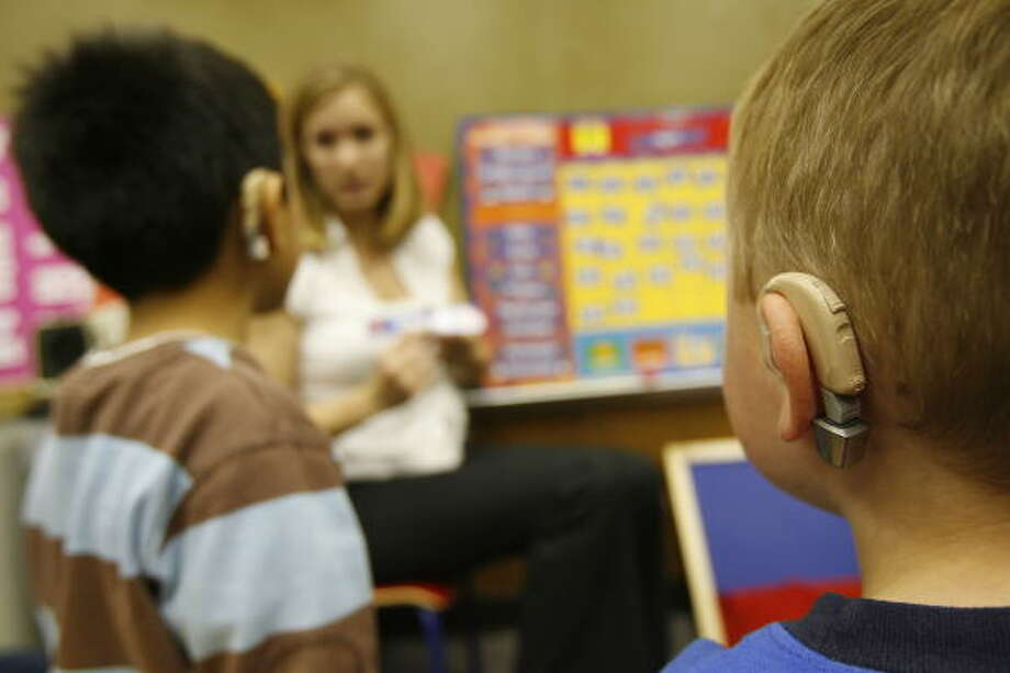 The Center for Hearing and Speech, which teaches deaf children to speak, sits on property the city leased for 99 years. Photo: Karen Warren, Chronicle