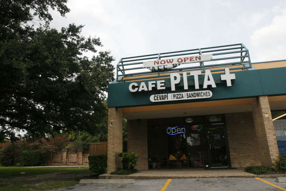 A street view of Cafe Pita +, a Bosnian restaurant in west Houston. Photo: Johnny Hanson, For The Chronicle