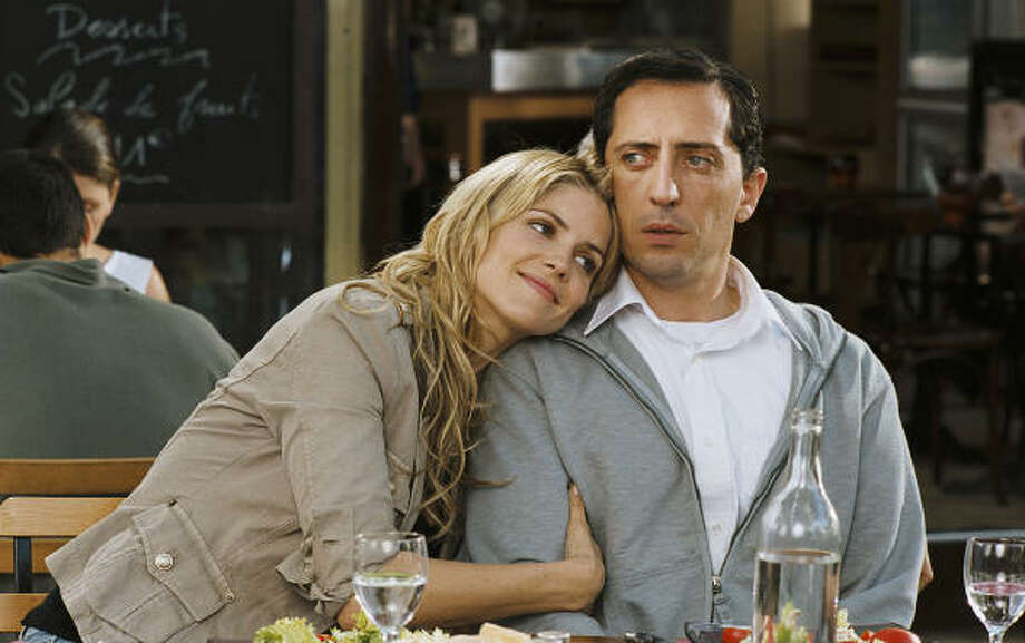 Alice Taglioni, as Elena, and Gad Elmaleh, as Francois Pignon, star in The Valet. Photo: Sony Pictures Classics