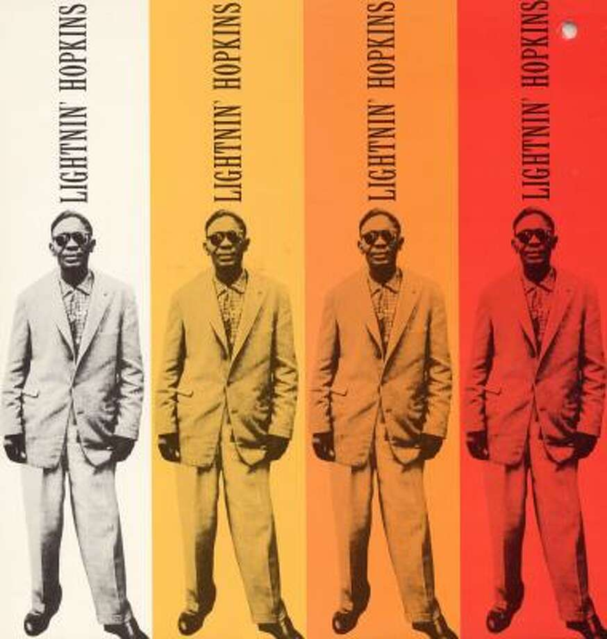 Lightnin' Hopkins cover concept was pinched for two albums released by artists in 2007. Photo: Smithsonian Folkways