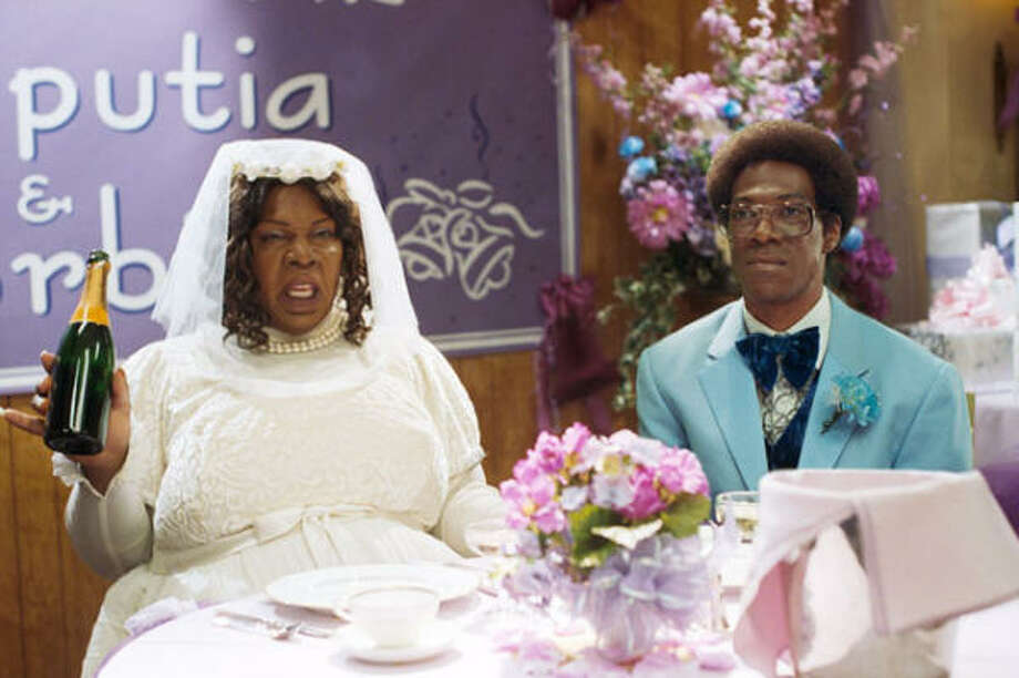 Eddie Murphy stars as both a nerd and his obnoxious girlfriend, in Norbit. Photo: Paramount Pictures