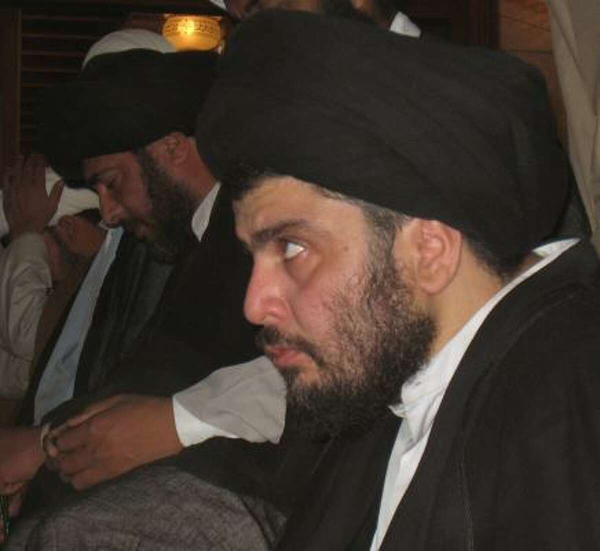 Radical Shiite cleric Muqtada al-Sadr remains a threat to Iraq peace as Shiites battle for control of oil fields.