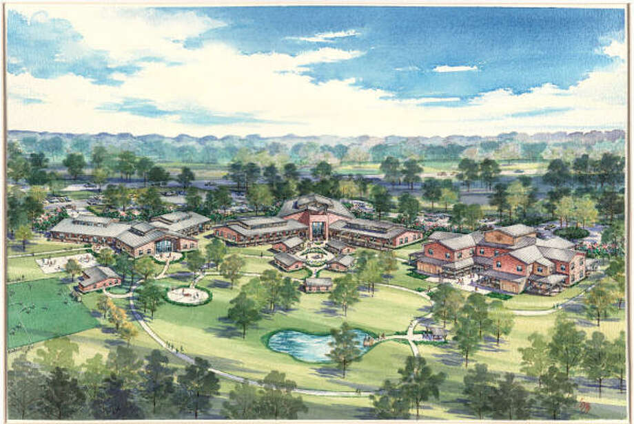 The Monarch School will break ground in October to start construction of the first phase of a new campus. Photo: Artist's Rendering, Courtesy Of The Monarch School