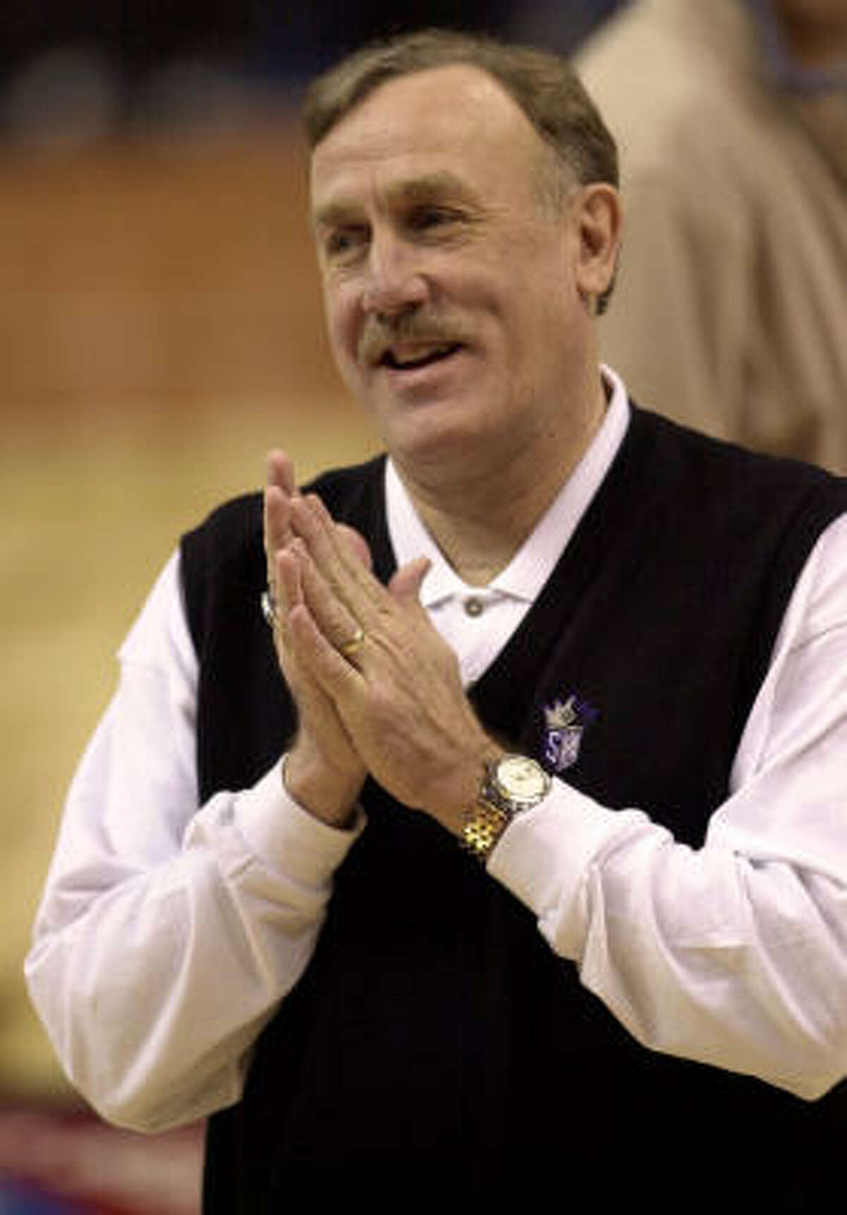 Rick Adelman coached the West All-Stars in 2001.