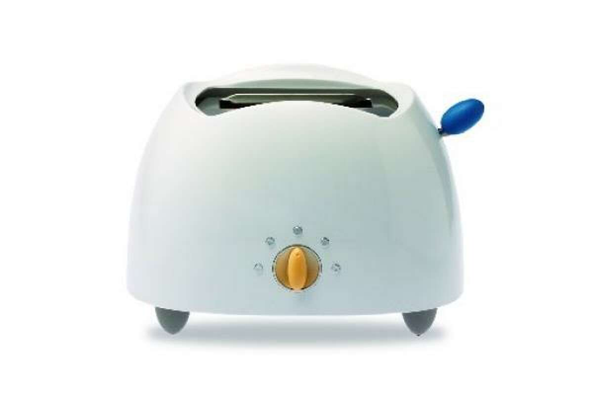 This snazzy Michael Graves-designed toaster can be found at Target.