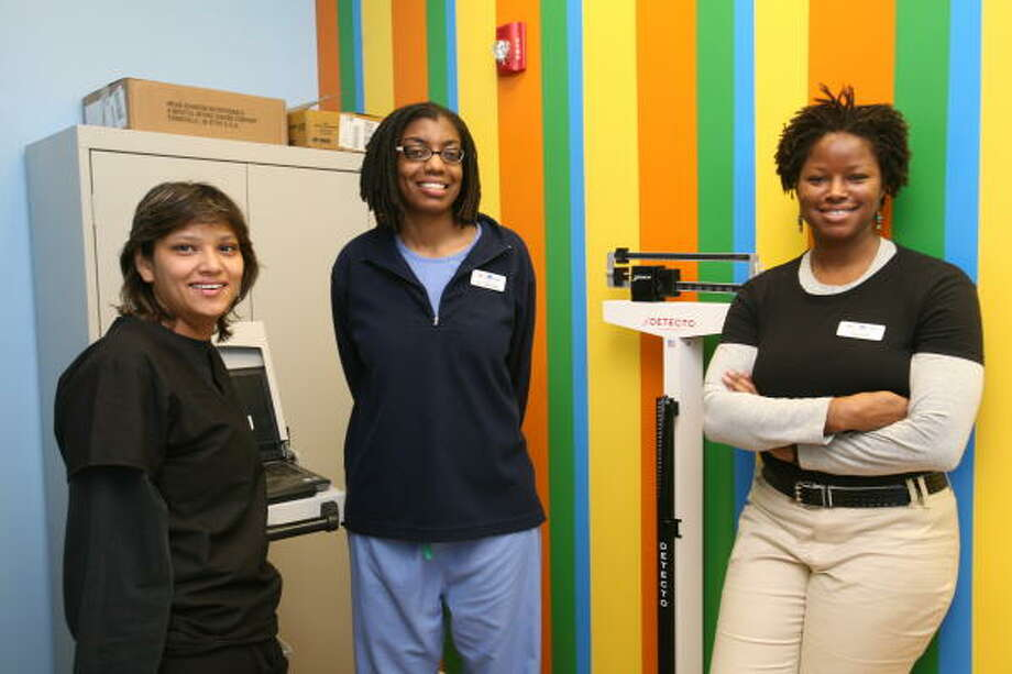 three women open after-hours clinic