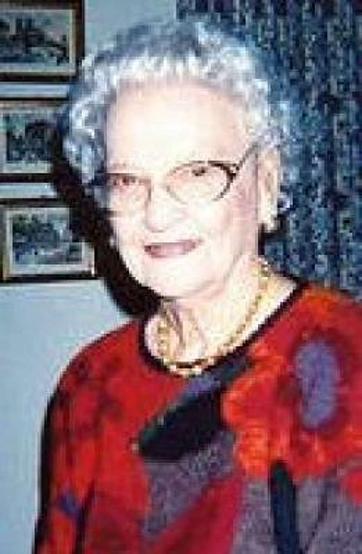 Hazel Lee Turner worked for the Houston Livestock Show and Rodeo from 1957 until illness forced her to retire in 2004.