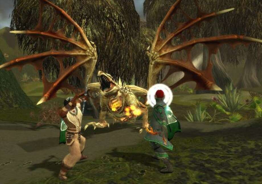 Guild Wars offers unlimited free play to purchasers. Photo: NCSOFT CORP.