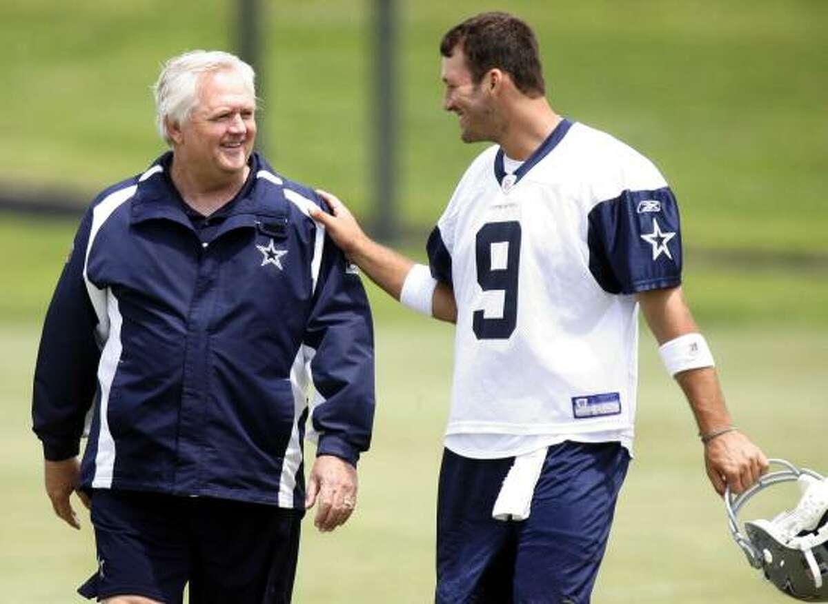 Cowboys quarterback Tony Romo calls Wade Phillips the smartest coach he's ever been around.