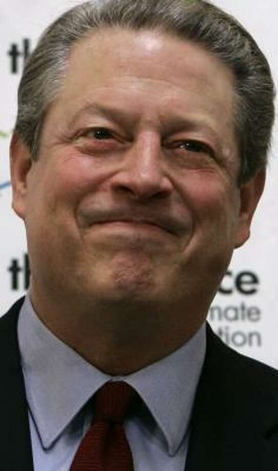 "Former Vice President Al Gore said climate change is a ""moral and spiritual challenge to all of humanity."" Photo: JEFF CHIU, ASSOCIATED PRESS"