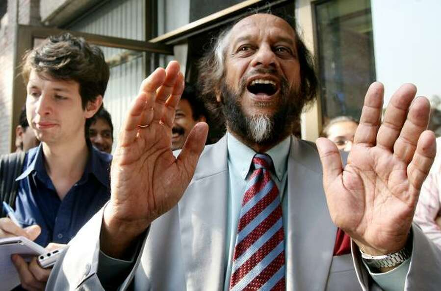 Chairman of the Intergovernmental Panel on Climate Change Rajendra Pachauri won the Nobel Peace Priz