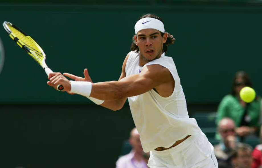 Rafael Nadal cruised past Tomas Berdych in the quarterfinals, ousting the Czech with a 7-6 (1), 6-4, 6-2 victory. Photo: Alex Livesey, Getty Images