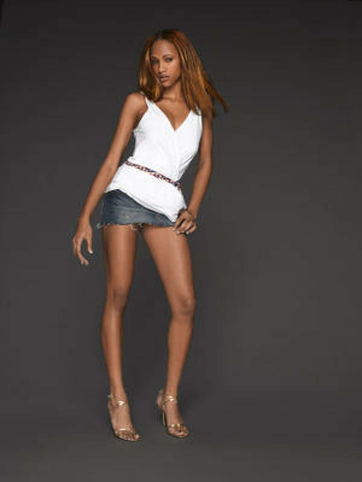 Felicia, 19, a sales associate from Houston, is vying to become America's next top model.