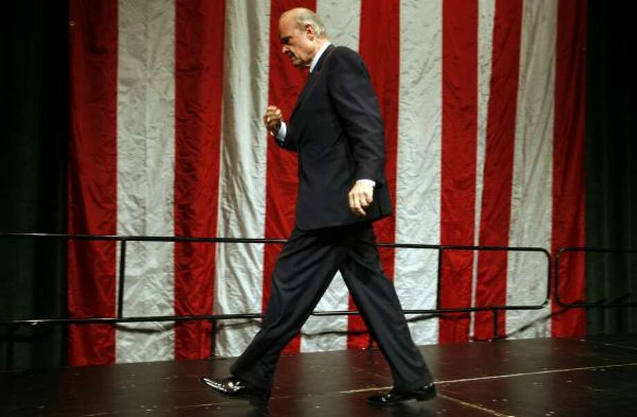 By next Thursday, Fred Thompson will be hitting full stride in his race for the prize. Photo: AJ MAST, ASSOCIATED PRESS