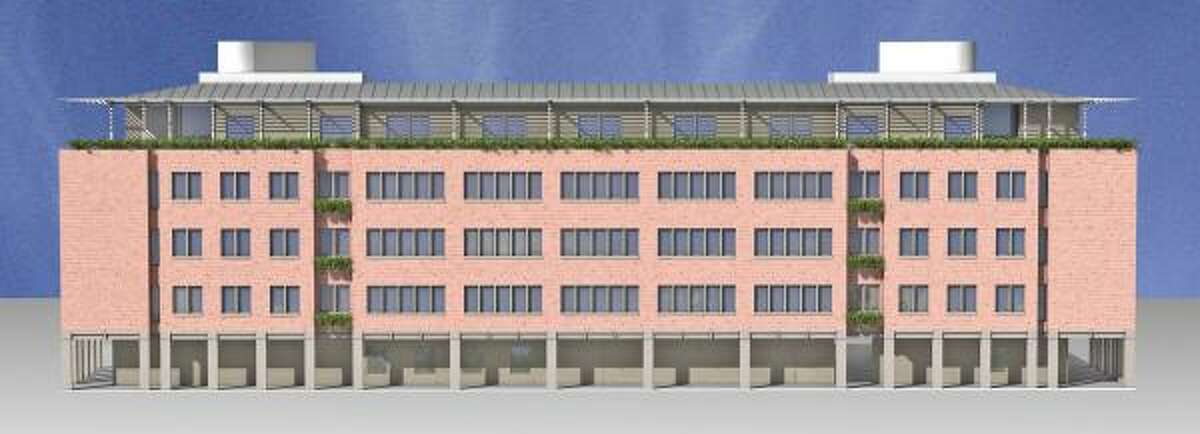The 324-bed Duncan College will have a plant-filled roof and controls that turn off air conditioners when windows are open. It is expected to reduce the use of energy and water by 25 percent.