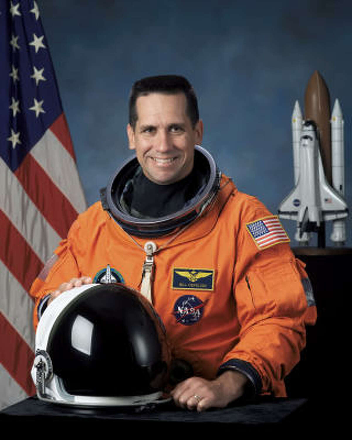 This official undated photo released by NASA, shows STS-116 Pilot William Oefelein.