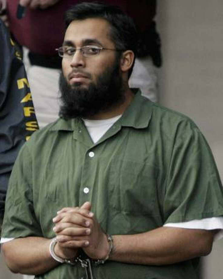 Shiraz Syed Qazi, 26, seen here in November 2006, and three others arrested last year are accused of material support of terrorism by training to fight with the Taliban against U.S.-led forces. Photo: Dave Einsel, Getty Images